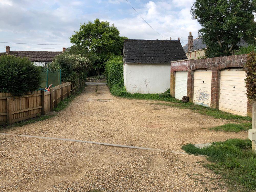 Sutton Veny Driveway 1