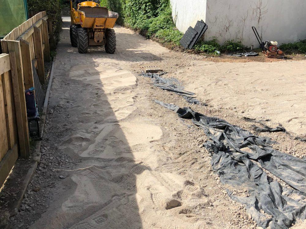 Sutton Veny Driveway 2